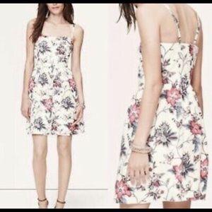 Ann Taylor LOFT dress NEVER WORN! Floral Linen